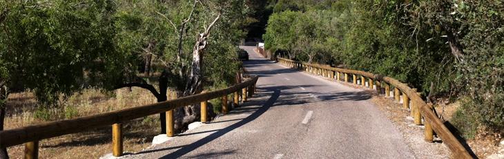 wood steel guardrails 23 Glissière de sécurité mixte
